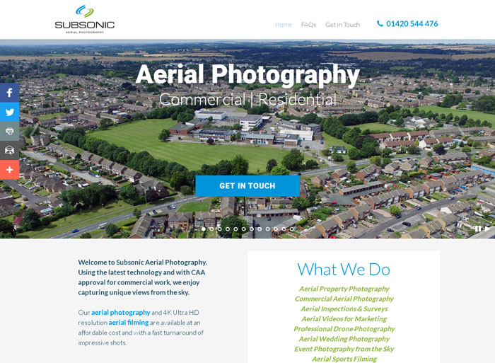 Subsonic Aerial Photography